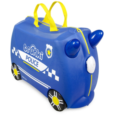 Trunki Ride On Suitcase Percy Police Car