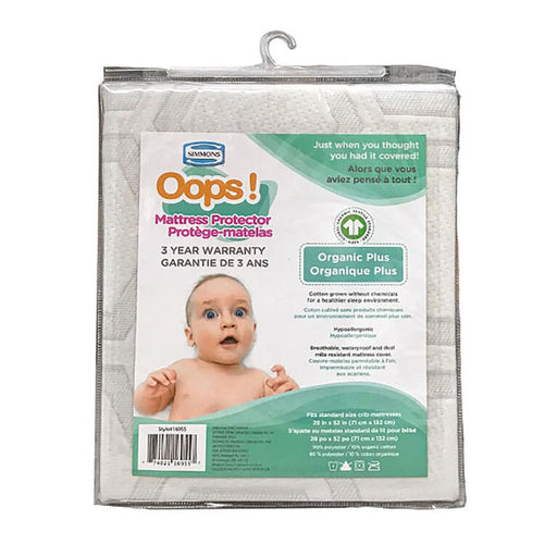 Simmons OOPS Simmons Organic Mattress Protector 16955