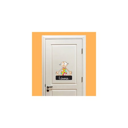Ad Zif Door Sign Baby Girl