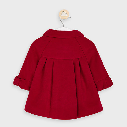 Mayoral Cloth Coat - Rojo Red 2466