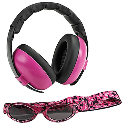 Baby Banz Baby Earmuffs Mini Protection Set Magenta BB661