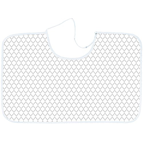 Kushies nursing canopy white/grey ornament (n915-537)