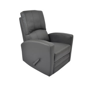 Kidiway Habana Swivel Rocker-Recliner - Grey (Ajax Pick-up Only)