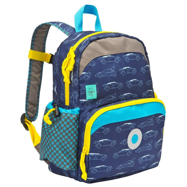 Lassig 4kids Mini Backpack Cars Navy LMBP1161