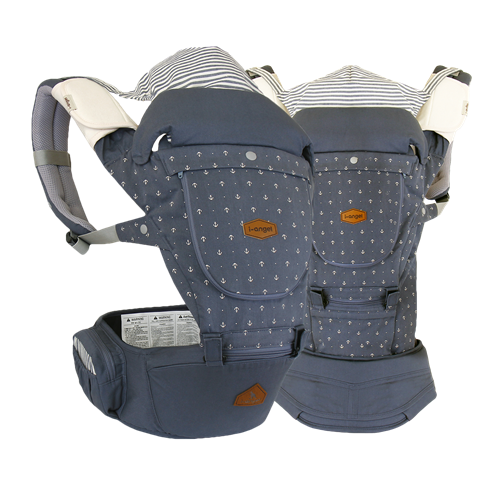I-Angel Miracle Hipseat Baby Carrier - Stone Blue
