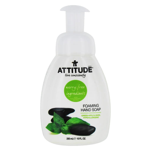 Attitude Foaming Hand Soap Greenapple Basil 295ml 137585