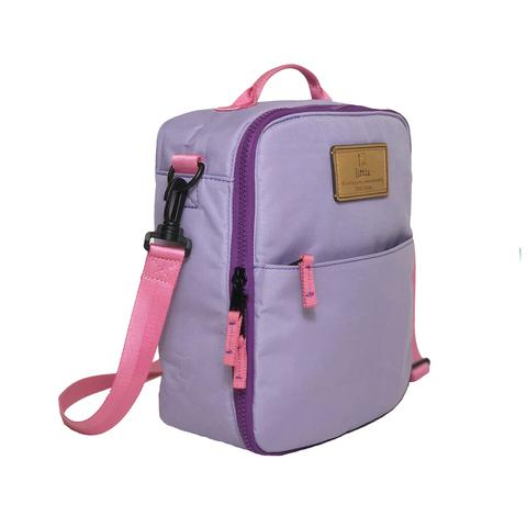 Twelve Little Adventure Lunch Bag Lilac