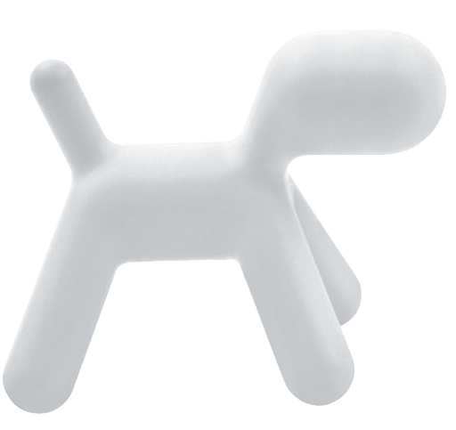 MAGIS DESIGN PUPPY ABSTRACT DOG WHITE Small 1735C (MARKHAM INSTORE PICK-UP ONLY)