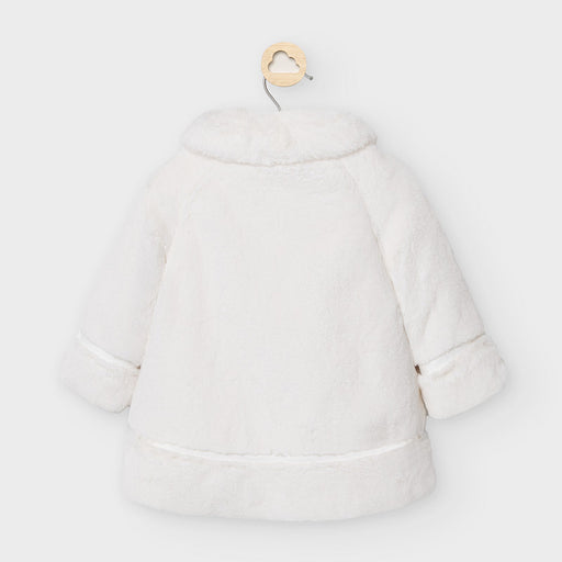 Mayoral Faux fur coat - Off white 2465