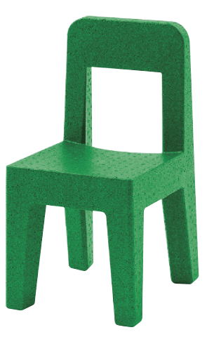 MAGIS DESIGN POP CHAIR GREEN 1638C  (MARKHAM INSTORE PICK-UP ONLY)
