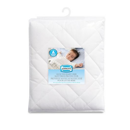 Simmons Quilted Polycotton Mattress Protector 10253