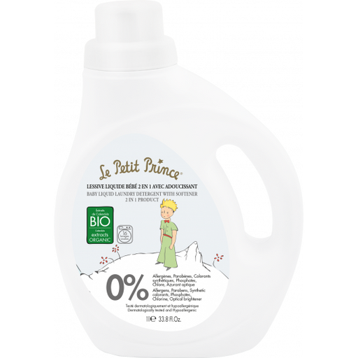 Le Petit Prince 2 in 1 Baby Luqid Laundry Detergent with Softener 33.8oz