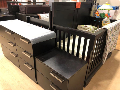 AP Industry Crib + Nightstand + Dresser (Markham Floormodel/ IN STORE PICK-UP ONLY)