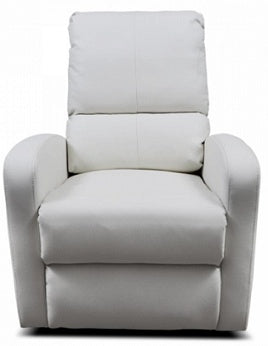Kidiway Bermuda Rocking Glider Chair - White (Ajax Pick-up Only)