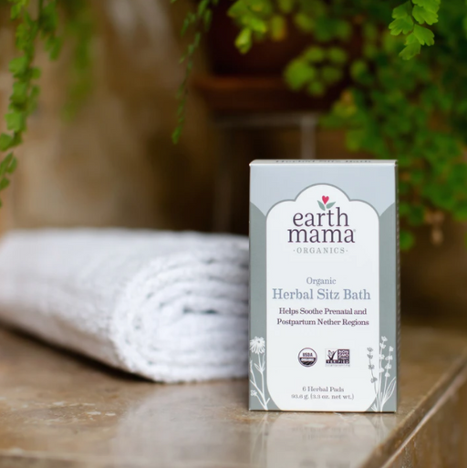 Earth Mama Organic Herbal Sitz Bath - 6 Pads