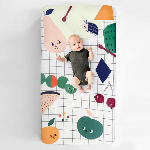 Rookie Humans Crib Sheet - Picnic In The Park 630231