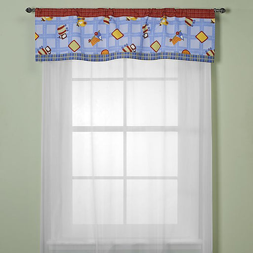 Coco & Company Window Valance - Road Work