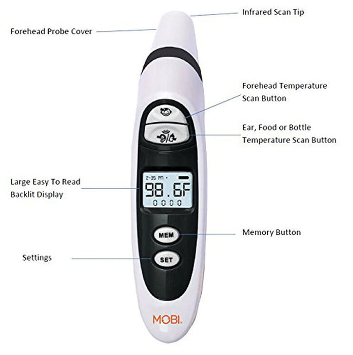 Mobi DualScan Prime Thermometer