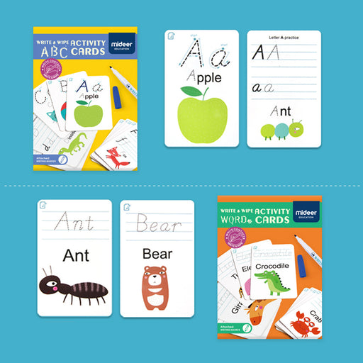 Mideer Wipe and Write Activity - ABC Cards MD1032