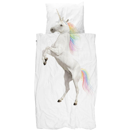 Snurk Unicorn Duvet Cover Set Twin
