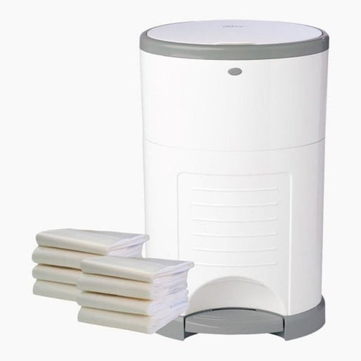 Dekor Diaper Pail Plus White Gift Set (2-12021-8)