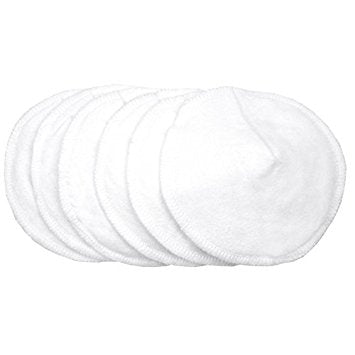 Kushies washable nursing pads 6pk (n900)