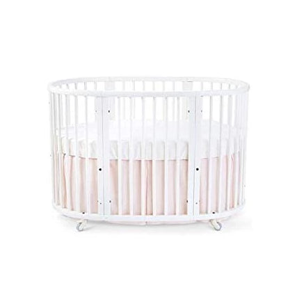 Pehr Sleepi Bed Skirt for Stokke Blush