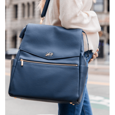 Freshly Picked Classic Diaper Bag Navy