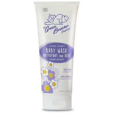 Green Beaver Baby Wash Lavender 240ml 428440