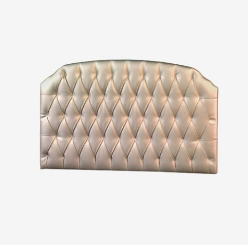 Natart Juvenile Bella Upholstered Headboard Panel - Platinum 725-P-Pla (MARKHAM INSTORE PICK-UP ONLY)