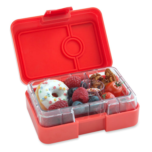 Yumbox MiniSnack 3 Compartment Saffron Orange
