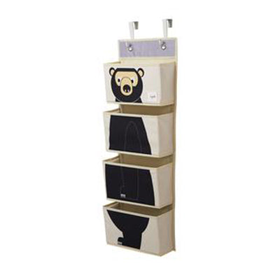 3 Sprouts Hanging Wall Organizer Bear (CWOBEA)