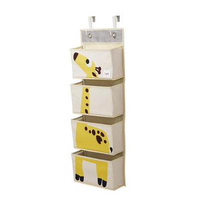 3 Sprouts Hanging Wall Organizer Giraffe
