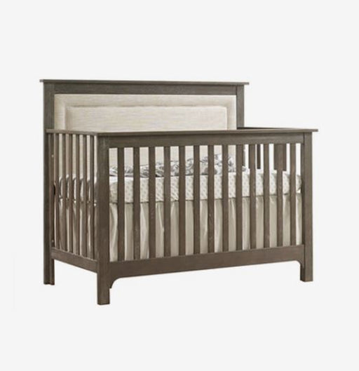 "Nest Juvenile Emerson 5-in-1"" Convertible Crib With Upholstered Panel NE7505P (MARKHAM INSTORE PICK-UP ONLY)"