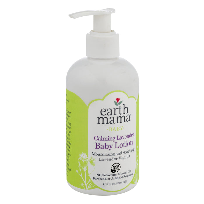 Earth Mama Calming Lavender Baby Lotion 240ml