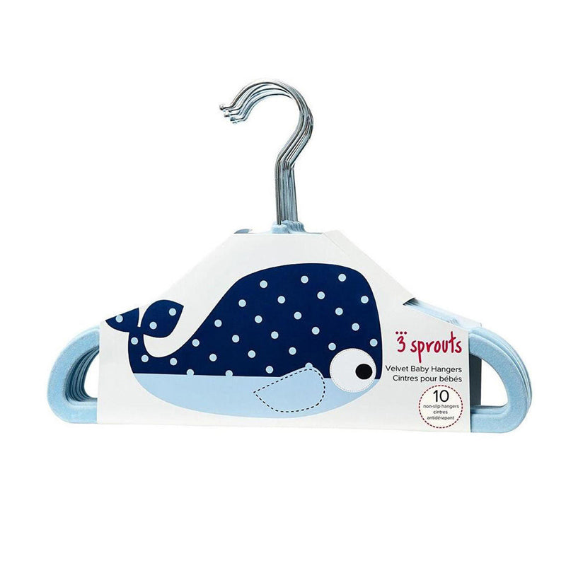 3 Sprouts Hanger - Whale - CanaBee Baby