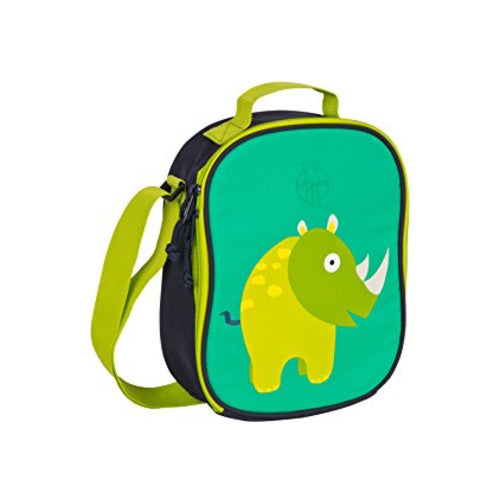 Lassig 4kids Mini Lunch Bag Wildlife Rhino LMLB188