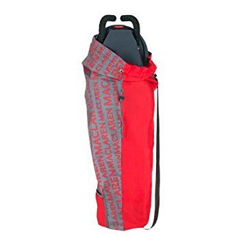 Maclaren Lightweight Storage Bag Charcoal /Cardinal ASE62012