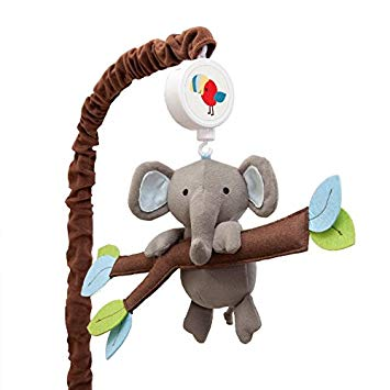 Lambs & Ivy Musical Mobile Treetop Buddies