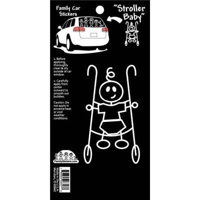 Family Car Stickers (Basic) - Stroller Baby - CanaBee Baby
