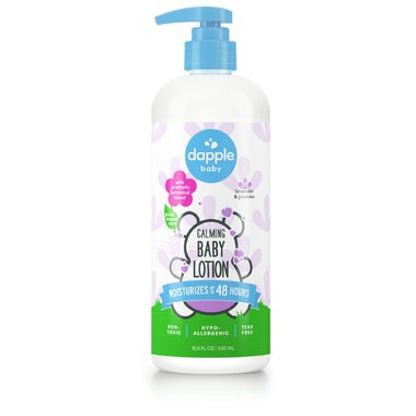 Dapple Calming Baby Lotion Lavender &Jasmine 16.9oz