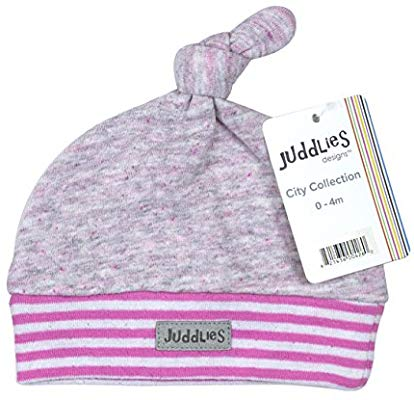 Juddlies City Newborn Hat Rosedale Pink