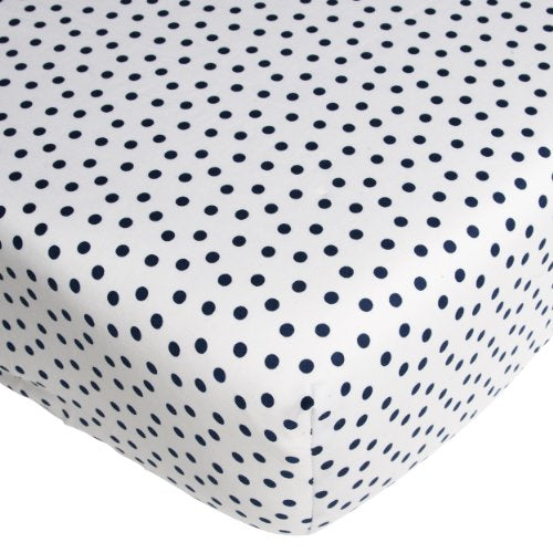 CoCalo Dottie Fitted Sheet - Connor Navy