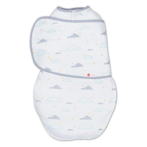 Embe Classic 2 Way Swaddle Clouds (ECLNAT1001)
