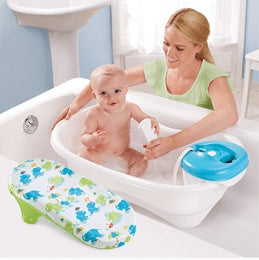 Summer Infant Newborn to Toddler Bath and Shower - Neutral 3L