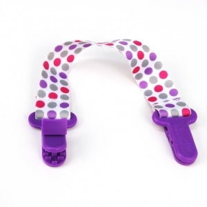 Petite Creations Bib Saver Purple Dots BS003