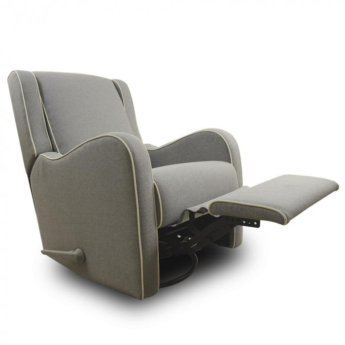 Kidiway Alice Rocking Glider Chair - Light Grey (Markham/Ajax Pick-up Only)