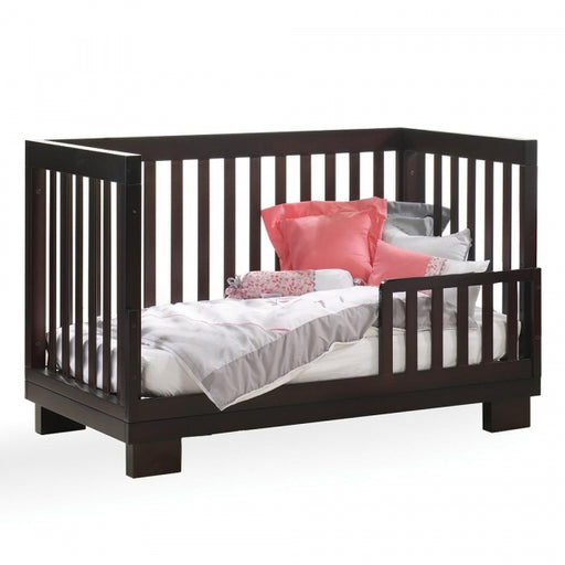 Kidiway Geneve 4-in-1 Convertible Crib - Java (Markham Pick-up Only)