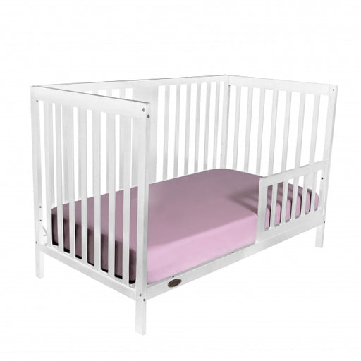 Kidiway William 4-in-1 Convertible Crib - White (Ajax Pick up Only)