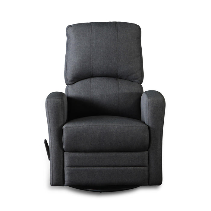 Kidiway Habana Fabric Glider Charcoal  (Markham/Ajax Pick-up Only)